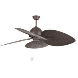 Ceiling fan tropical brown 130 Cm FARO CUBA 33352