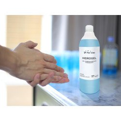 Hydroalcoholic gel conditioned in 500 Ml