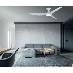 KooKai by Lbahome a limited series of ceiling fans DC design, more compact, ultra powerful, with three-tone LED plate
