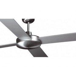 Ceiling fan, modern, 132 cm. MALLORCA nickel matte Faro 33292
