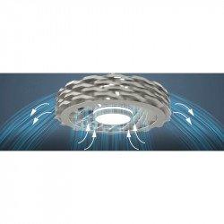 Yoga white, Dc ceiling fan without blades, new technology with remote control. nouveau produit