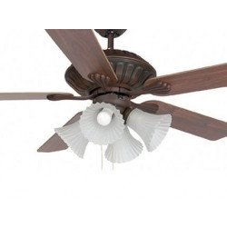 Corso Is A Classic Ceiling Fan With 4 Lamps Of 60 Watts