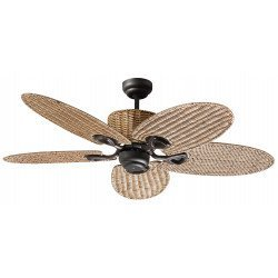 "Palma, ceiling fan 130 cm"", Ceiling fan 130 cm , palm leaf shaped blades"