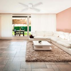 The smallProfile is a design fan, powerful and very quiet, it is also recommended for low ceilings.