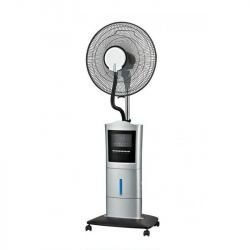 40 cm oscillating fogger with remote control, ideal for open environments.