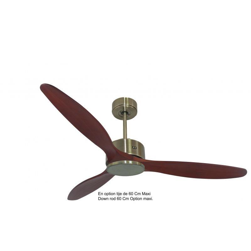 Modulo KlassFan- DC Hyper Silence ceiling fan, destratifier mode, remote control, for summer and winter KL_DC5_P5166RW