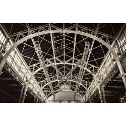 DC Raptor HVLS RTDC8 8ft. High efficiency industrial ceiling fan. Low power usage and high air volume. coverage of 140 sqm