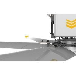 HVLS AC Stator OM-KQ-5E 220V. Industrial ceiling fan 18ft/5.5m. Ultraefficient desing 1080sqm coverage.