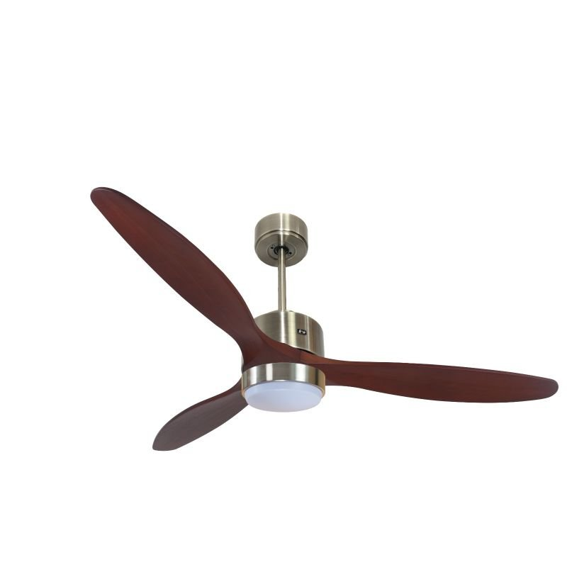 Modulo destratifier DC with light Hyper Silence ceiling fan, remote control, for summer and winter KL_DC5_P5166RW_L1AB