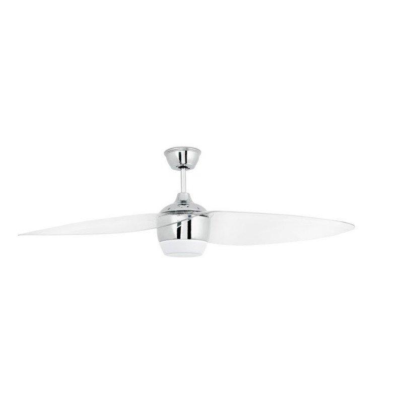 Ceiling fan Design 132 cm Matt nickel with IR remote LED lamp FARO Alaska 33412