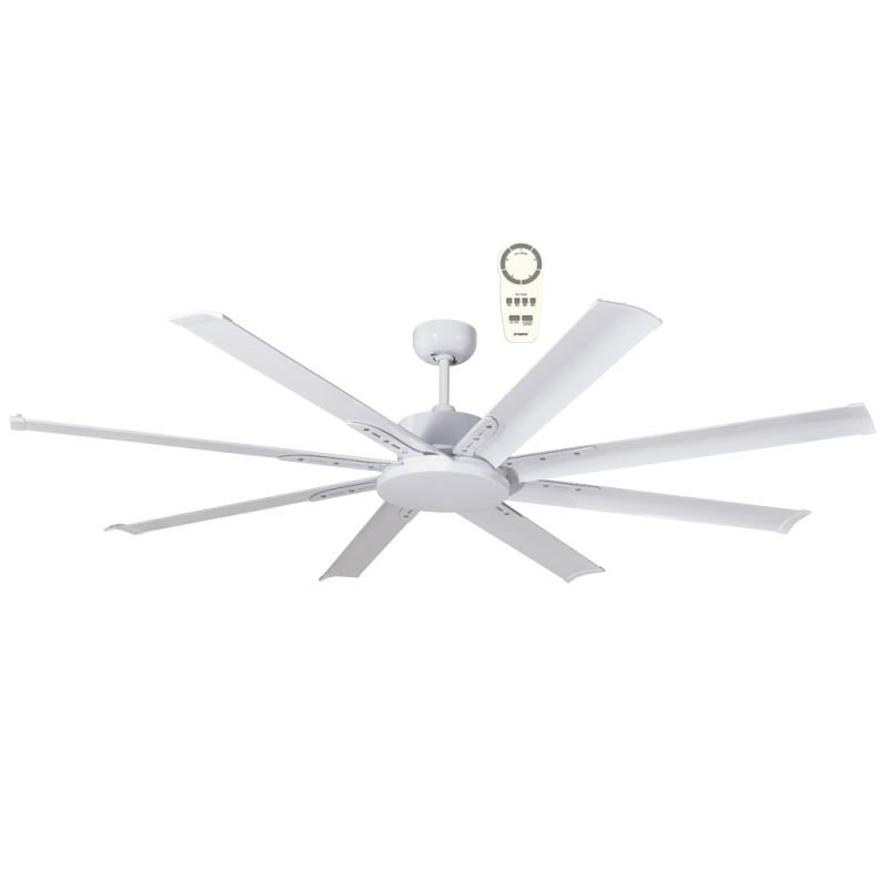ceiling fan modern DC 165 cm Mini NORTH STAR , outdoor White