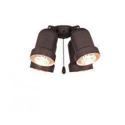 Kit light for ceiling fan Light 4 (Antique Brown) Eco Elements, Carribean Dream, satin star royal merkur