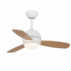 Libellula - DC ceiling fan, 92 cm, with lighting and remote control, with reversible  blades