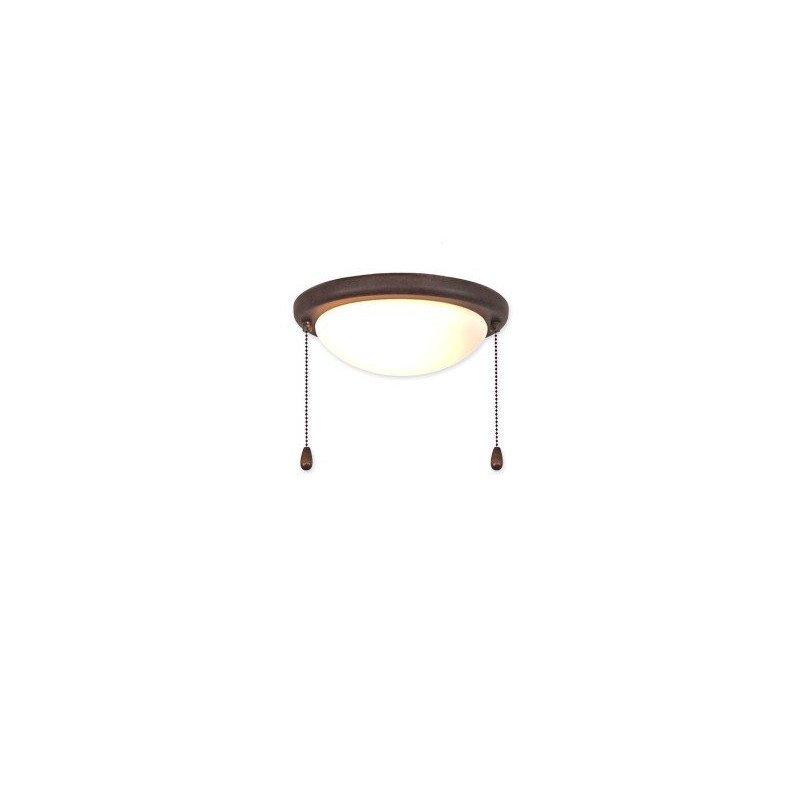 Kit light for ceiling fan 15r Antique Brown versions Eco Elements, Carribean Dream, satin star royal merkur