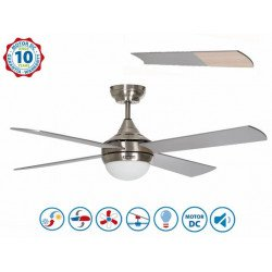 Volt from Purline By KlassFan - limited series DC design ceiling fan, very powerful, with LED light