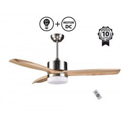 Arime Light II - DC ceiling fan, thermostat, Wi-Fi, for summer and winter