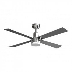 Electron - Smart ceiling fan with DC motor, dimmable LED light, integrated thermostat for rooms from 10 to 20 m².