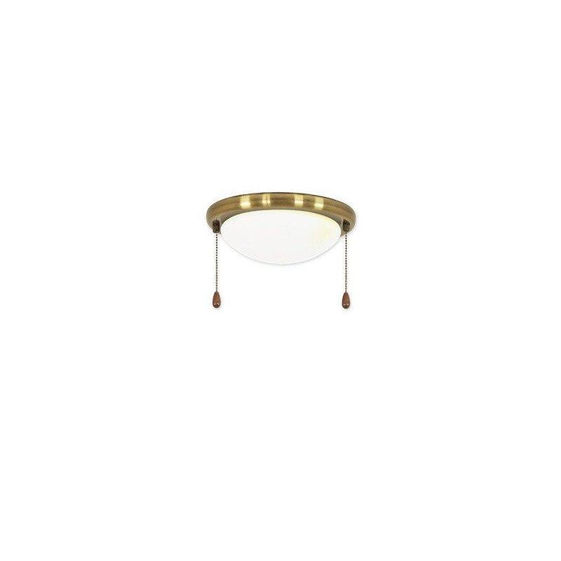 Light Kit 15 R For Casafan Antique Brass Ceiling Fan