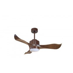 Modulo from KlassFan - DC ceiling fan for heat recovery, with light, ideal for 15-25 m² KL_DC2_p1WO_L1Wo