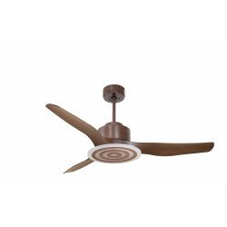 Modulo from KlassFan - ceiling fan for heat recovery, with LED light, ideal for 15-25 m² KL_DC2_P4WO_L3WO