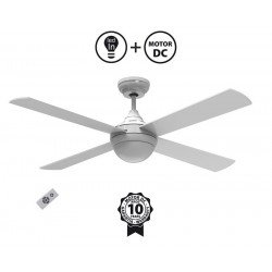 Riaica II by KlassFan - latest generation ceiling fan with Wi-Fi, thermostat and dimmable LED light