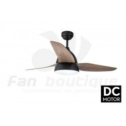 Bell Rustic - DC ceiling fan in a modern design, with lighting, remote control, summer / winter operation
