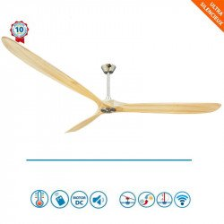 Big Géronimo - Design HVLS ceiling fan 223 cm, thermostat and Wi-Fi