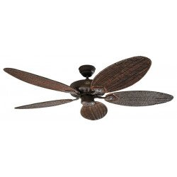 Ceiling Fan, Royal BA132 cm, Antique brown, walnut blades CASAFAN