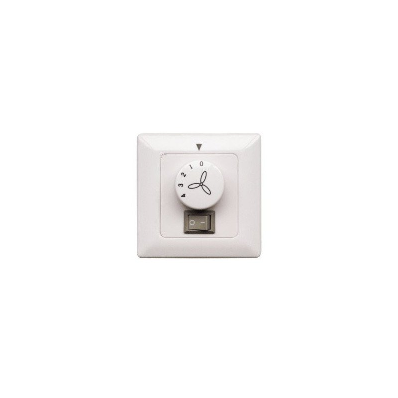 Wall control for the speed and the light for ceiling fan Modern Fan