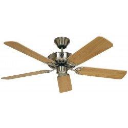 Ceiling Fan, Royal BN132 cm, brushed chrome, beech blades.