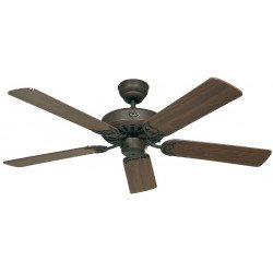 Ceiling Fan, Royal BA132 cm, Antique brown, walnut blades