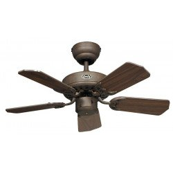 Ceiling Fan, Royal 75 BA cm, Antique brown, walnut blades