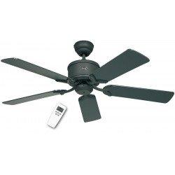 DC Ceiling Fan 132 Cm, Eco Elements GR Graphite. blades - varnished graphite / black matt.