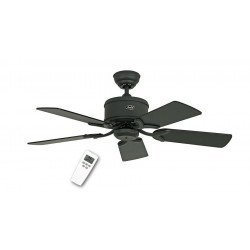 DC Ceiling Fan 103 Cm, Eco Elements GR Graphite, graphite blades varnish / matt black.mande, CASAFAN