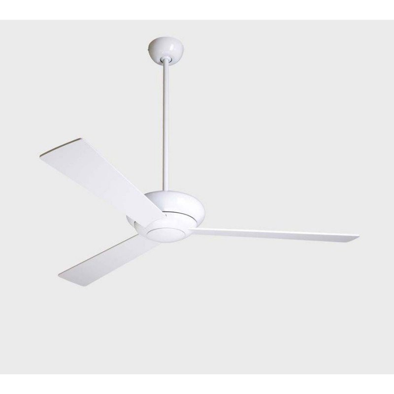 ceiling fan, Altus Glossy white 106 Cm, white blades ideal for hotel coffee shop, Modern Fan Compgny