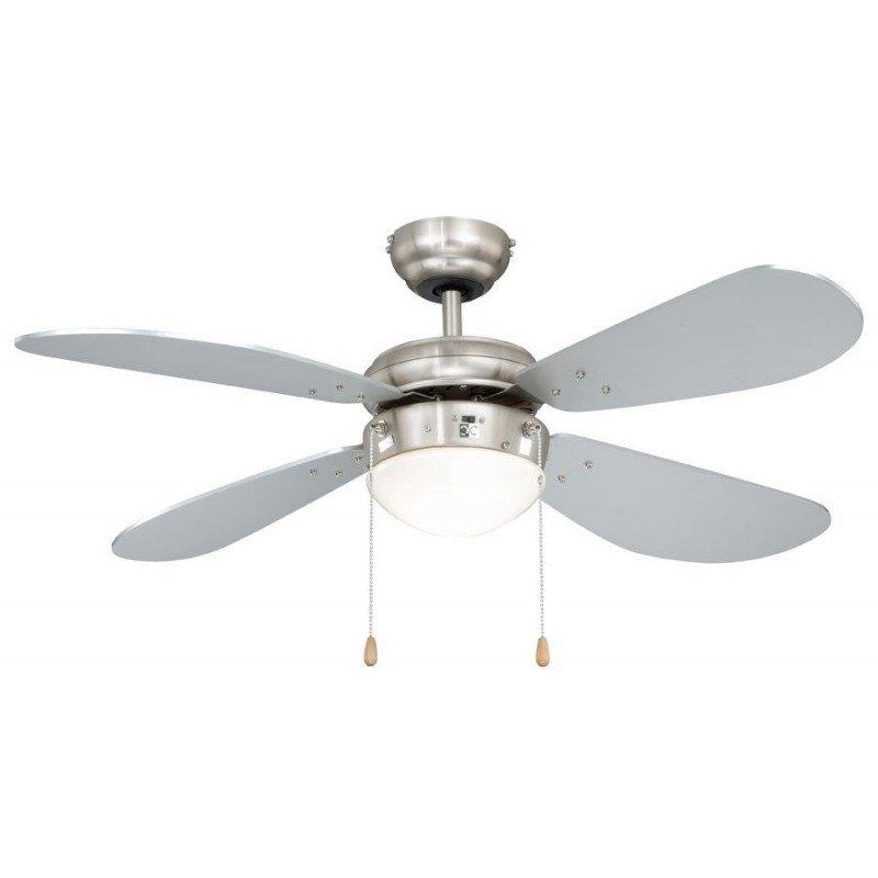 Classic Fan Fan For Low Ceilings Blades Gray