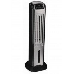 air cooler Rafy 80, a ventilation tower that cools effective elegant discrette.