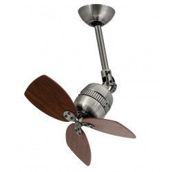 Ceiling fan aluminum antique zinc 46 cm - Pepeo Toldeo AM