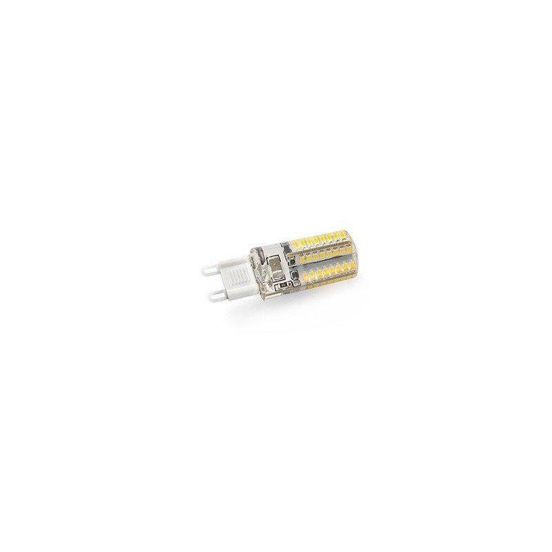 Pack of 4 LED bulbs G9 3W 2900K-3300K