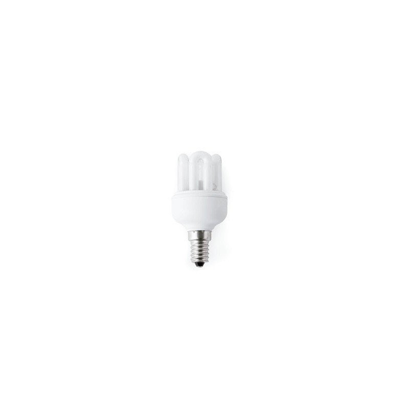 Pack of 10 MINI bulbs, E14 15W, WARM WHITE, low consumption