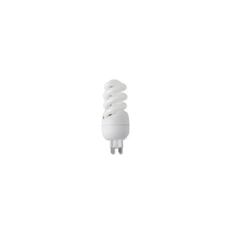 Pack of 4 9W bulbs G9 2700K warm white low consumption