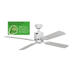 Ceiling Fan 132 cm Solar 12V, ideal for a solar installation white