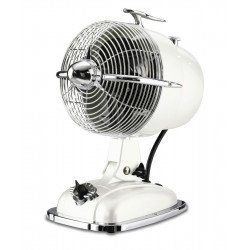 The fan Table Retrojet of casafan is a retro fan, American style sixties, superb,white