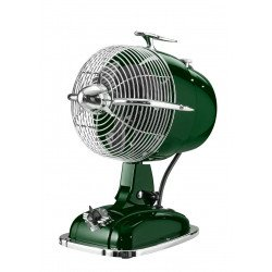 Table fan,green, casafan Retrojet an exercise in beautiful retro sixties style