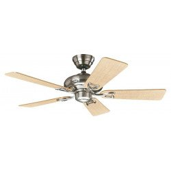 ceiling fan, classic, bronze engine box, maple blades and light gray silent, 112 cm Hunter Seveille