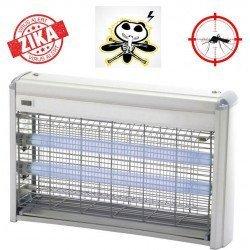 insect killer, Z215, 80 m², aluminum, 2 x 15 watts
