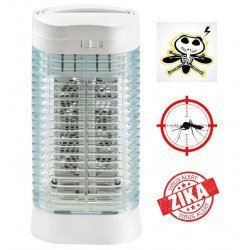 Insect Killer, Z112 , 10 m², aluminum, 2 x 15 watts with ashtray