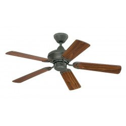 Ceiling Fan 105 cm, reversible blades - cherry / oak