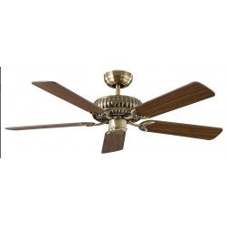 Ceiling Fan, brass, DC, Imperial, customize yourself. CASAFAN 132 MA