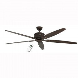 DC Ceiling Fan 180 Cm, Eco Elements BA, antique brown, blades Beech / oak aged.